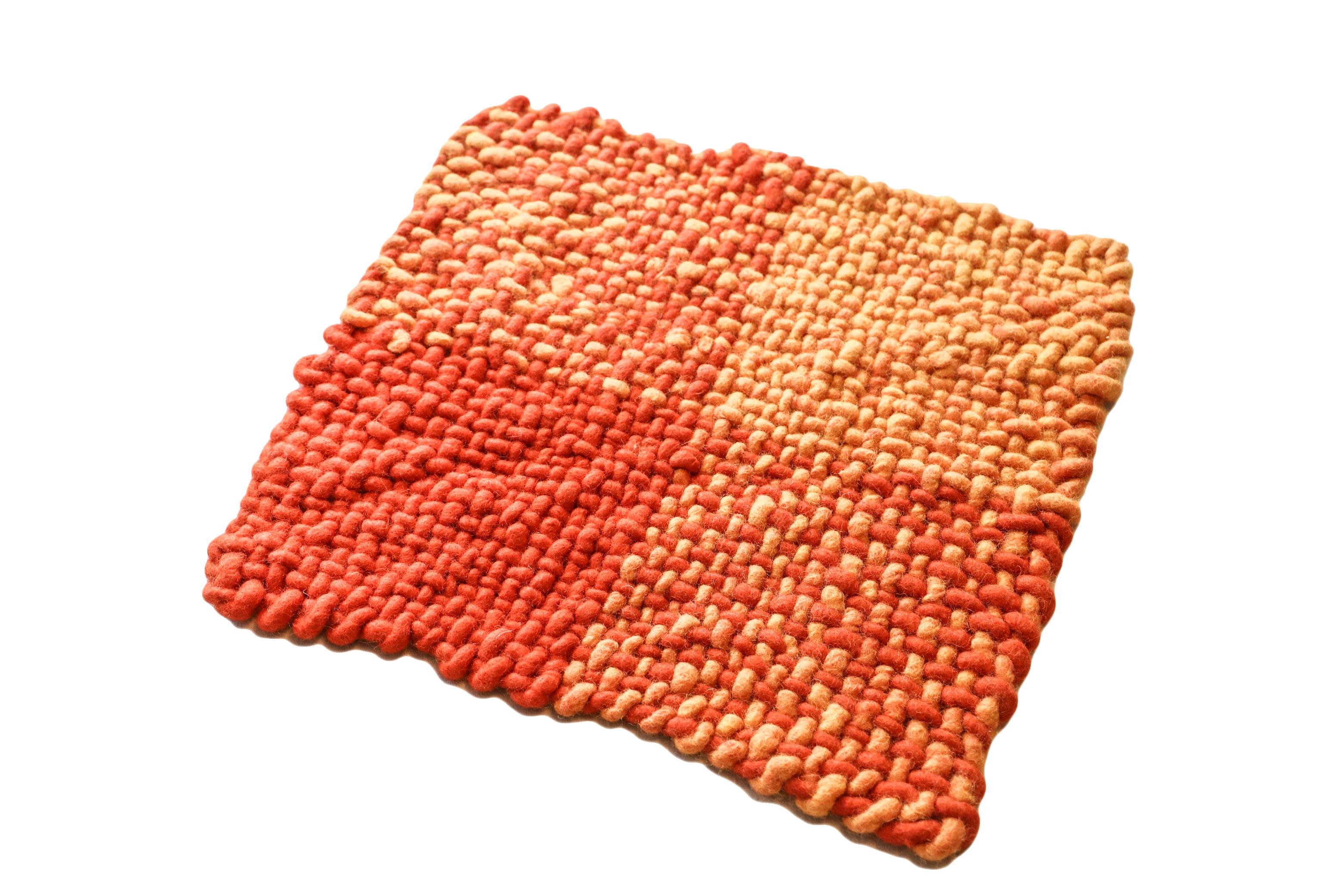 Sitzkissen-Outdoor-gewebt-orange-ksg