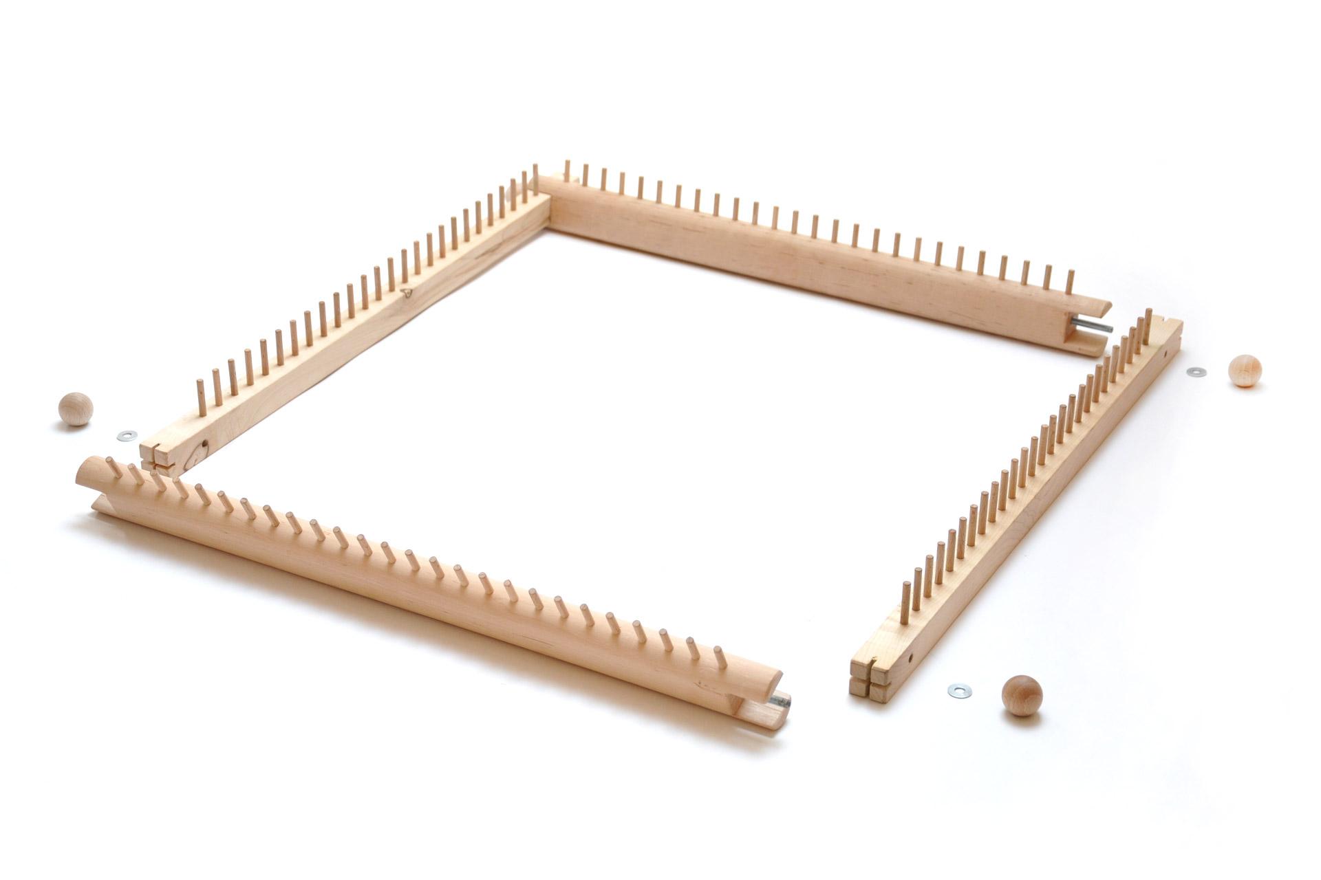 Webrahmen-Holz-Sitzkissen-Wolle-gefilzt-ksg
