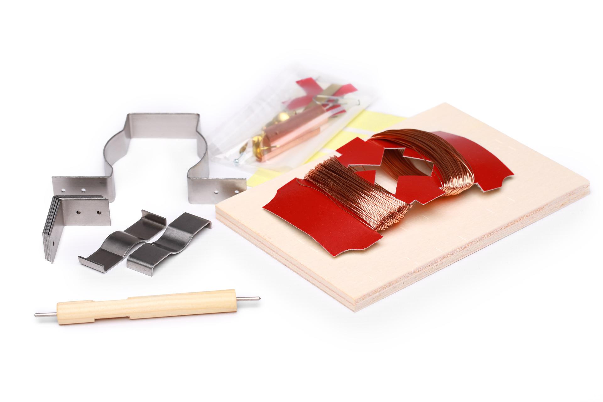 Spielwaren-Bausatz-Elektromotor-Einzelteile-ksg